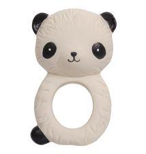 teething ring panda side view