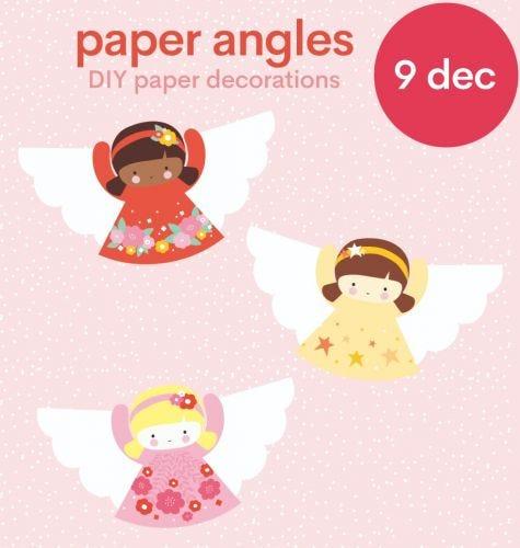Download: DIY Papier Cherubs