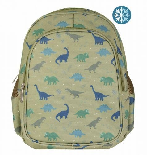 Rucksack: Dinosaurier | Schulmaterial | A Little Lovely Company