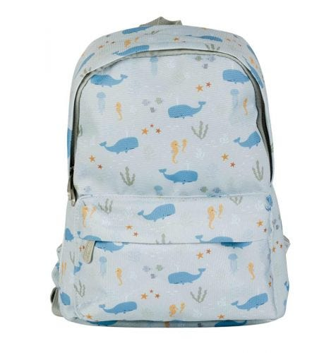Kleiner Rucksack: Ozean | Schulmaterial | A Little Lovely Company