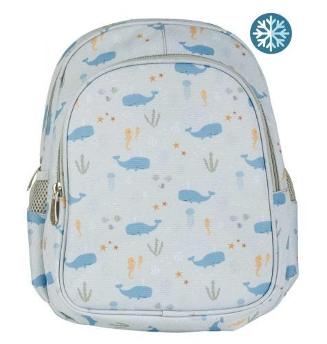 Rucksack: Ozean | Schulmaterial | A Little Lovely Company