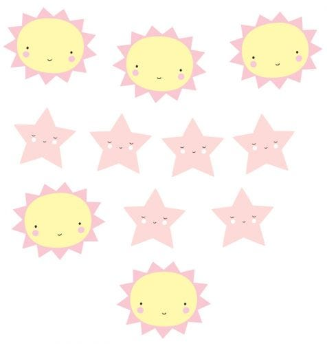 Girlande: Miss Sunshine
