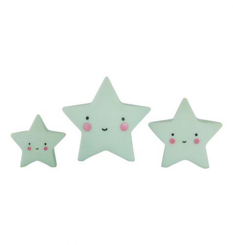 Minis: Sterne – Mint