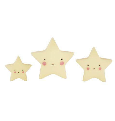 Minis: Sterne – Gelb