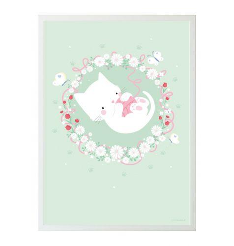 Poster: Katze