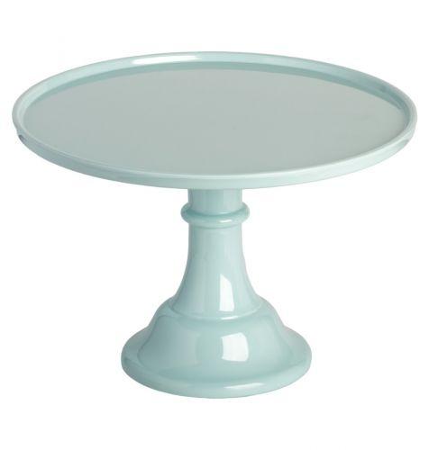 Cake stand: vintage blue