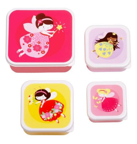 Kinder lunchboxen snackboxen mittag trommel brotdosen kindergarten A Little Lovely Company