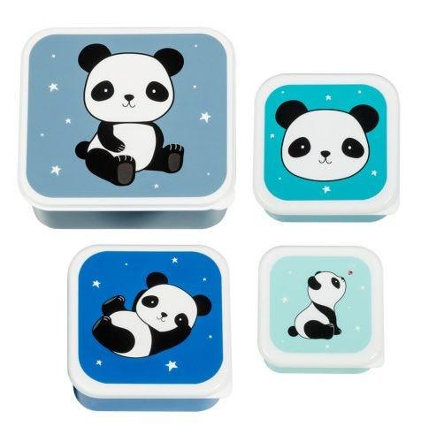 Brot- und Snackdosen Set: Panda