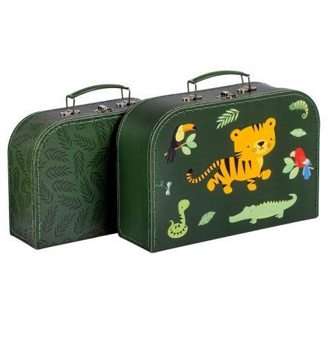 Kofferset: Dschungel Tiger