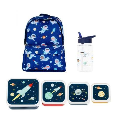 Schulset: Kleiner Rucksack - Astronauten