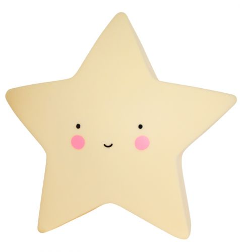 Little light star yellow