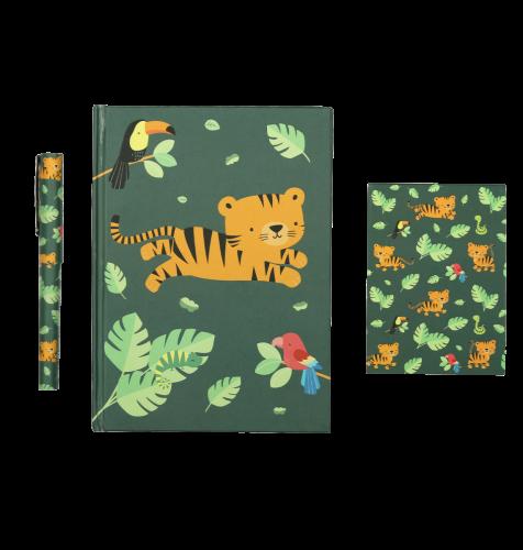 Stationery Set: Dschungel Tiger