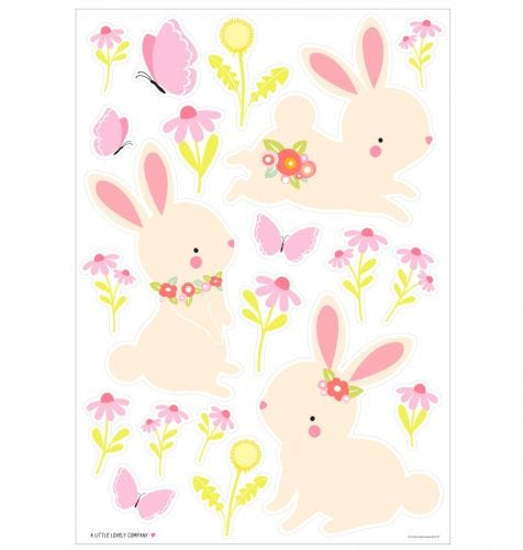 Wandsticker: Kaninchen