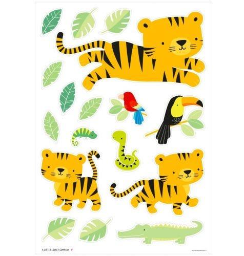 Wandsticker: Dschungel Tiger