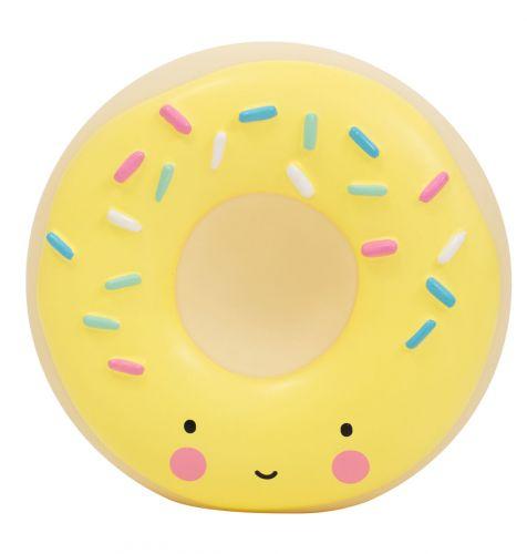 Spardose: Donut - Gelb